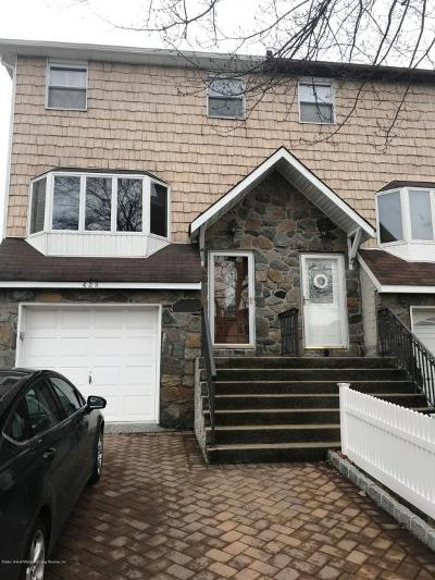 Staten Island NY Semi-Attached For Sale: $685,000