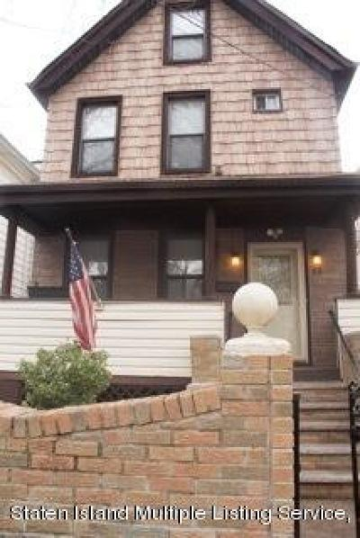 Staten Island Single Family Home For Sale: 63 Cortlandt Street