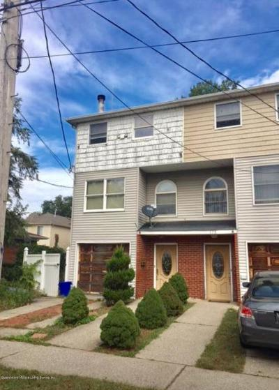 Staten Island Semi-Attached For Sale: 171 Melvin Avenue