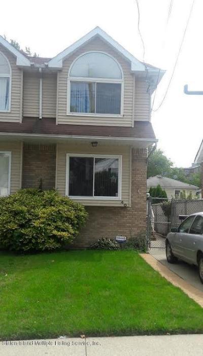 Staten Island Semi-Attached For Sale: 40 Buel Avenue