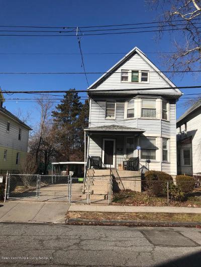 Staten Island Single Family Home Acceptance: 57 Harrison Avenue
