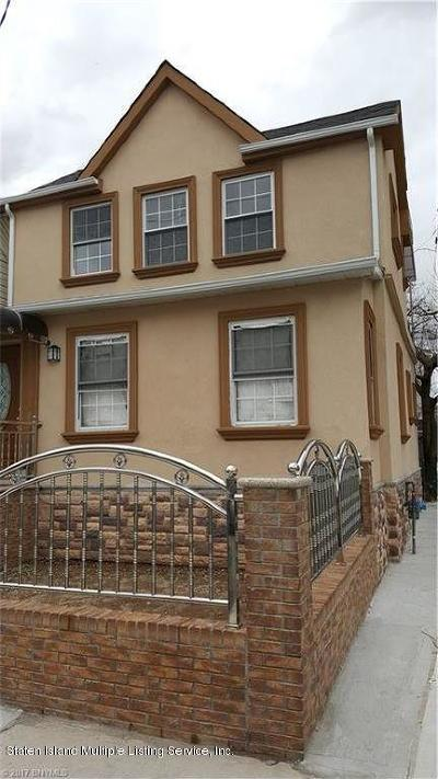 Staten Island NY Single Family Home For Sale: $555,000