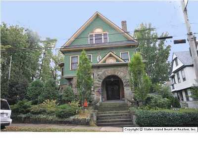 Staten Island Single Family Home For Sale: 42 The Boulevard