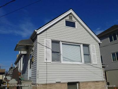 Staten Island Single Family Home For Sale: 289 Freeborn Street