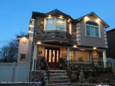 Staten Island Single Family Home For Sale: 521 Jefferson Boulevard