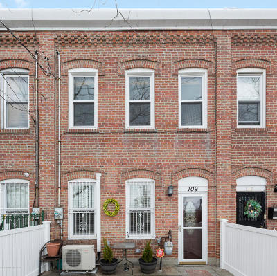 Single Family Home For Sale: 109 Chestnut Avenue