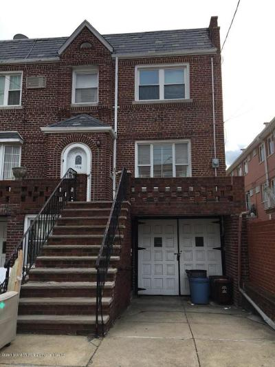 Brooklyn Single Family Home For Sale: 1014 70th Street