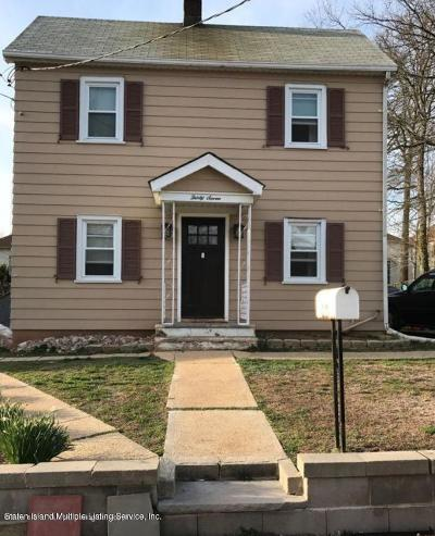 Staten Island Single Family Home For Sale: 37 Depew Place