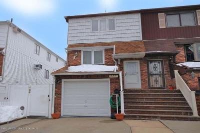 Staten Island Two Family Home For Sale: 446 Stobe Avenue