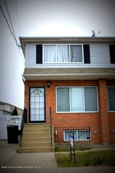Staten Island Semi-Attached For Sale: 201 Maple Parkway