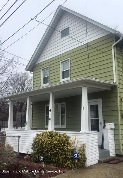 Single Family Home For Sale: 5 Cannon Avenue