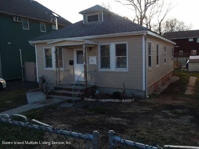Staten Island Single Family Home For Sale: 296 Boundary Avenue