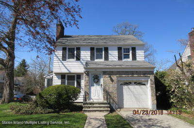 Staten Island Single Family Home For Sale: 191 Constant Avenue