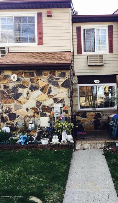 Staten Island Condo/Townhouse For Sale: 14 Fuller Court