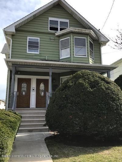 Staten Island Rental For Rent: 1578 Victory Boulevard #1st Floo