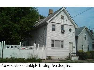 Staten Island Two Family Home For Sale: 58 Caroline Street