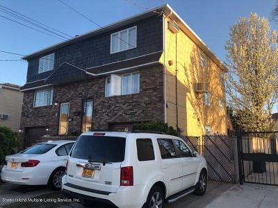 Richmond County Two Family Home For Sale: 292 Dongan Hills Avenue