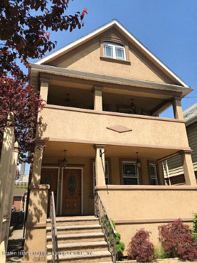 Staten Island Two Family Home For Sale: 385 Victory Boulevard
