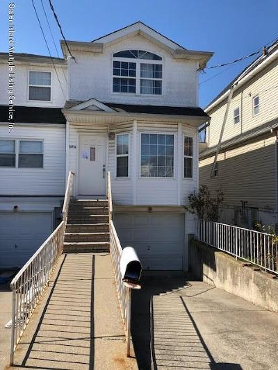 Staten Island Semi-Attached For Sale: 117 Hett Avenue #A
