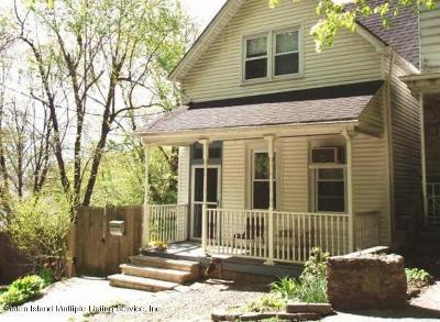 Single Family Home For Sale: 132 Hillside Avenue