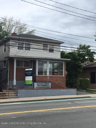 Staten Island Commercial For Sale: 1303 Clove Road