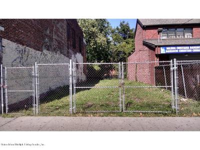 Staten Island Residential Lots & Land For Sale: 179-181 Broad Street