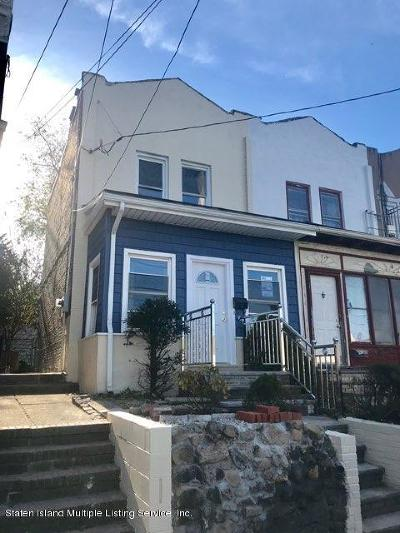 Staten Island Semi-Attached For Sale: 406 Castleton Avenue
