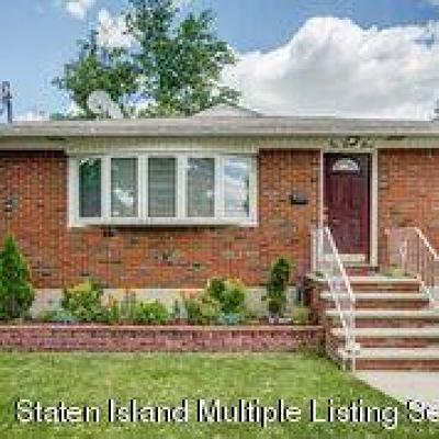 Staten Island Single Family Home For Sale: 167 Ebbitts Street
