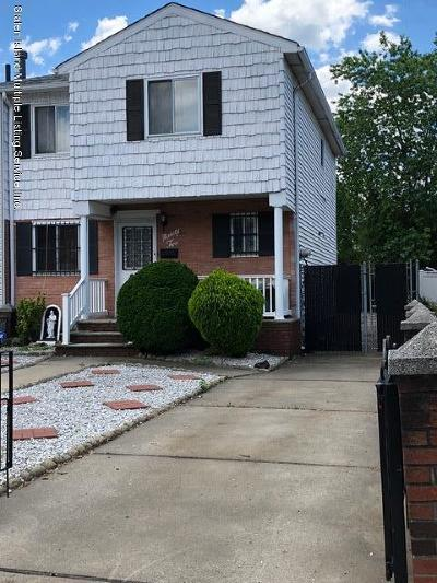 Staten Island Semi-Attached For Sale: 92 Ada Drive
