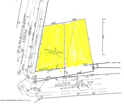 Staten Island Residential Lots & Land For Sale: Holton Avenue
