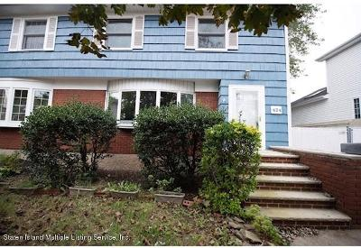 Staten Island Semi-Attached For Sale: 424 Yetman Avenue
