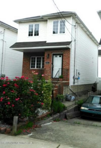 Staten Island Single Family Home For Sale: 521 Villa Avenue