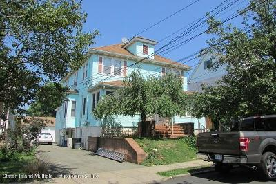 Staten Island Multi Family Home For Sale: 139-141 Wood Avenue