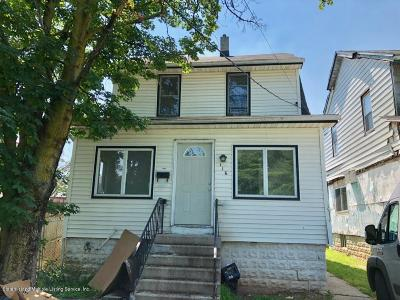 Single Family Home For Sale: 116 Wakefield Avenue