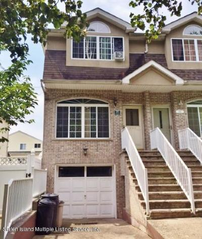 Richmond County Semi-Attached For Sale: 478 Englewood Avenue