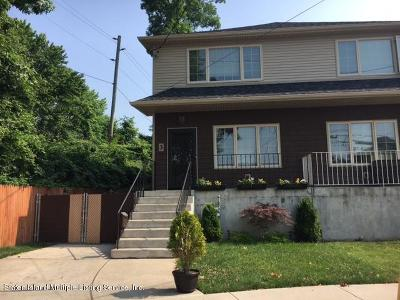 Richmond County Semi-Attached For Sale: 3 Dumont Avenue