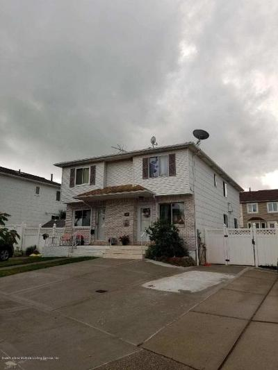 Richmond County Semi-Attached For Sale: 22 Mott Street
