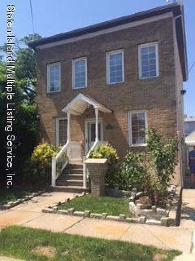 Staten Island Two Family Home For Sale: 61 Appleby Avenue