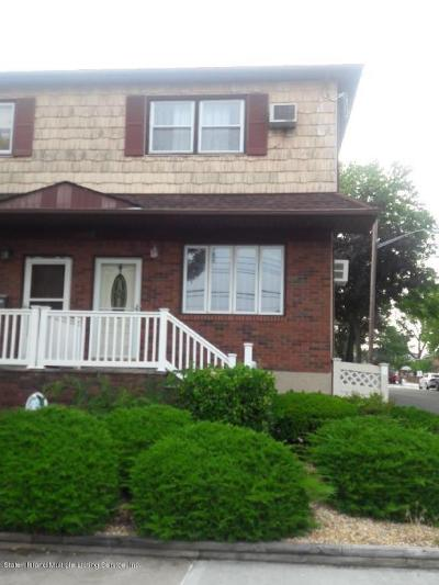 Staten Island Semi-Attached For Sale: 165 Winham Avenue