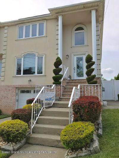 Richmond County Semi-Attached For Sale: 4823 Hylan Boulevard