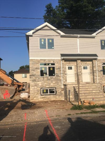 Staten Island Semi-Attached For Sale: 118 Clermont Place