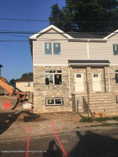 Staten Island Semi-Attached For Sale: 122 Clermont Place