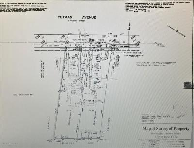 Staten Island NY Residential Lots & Land For Sale: $1,299,999