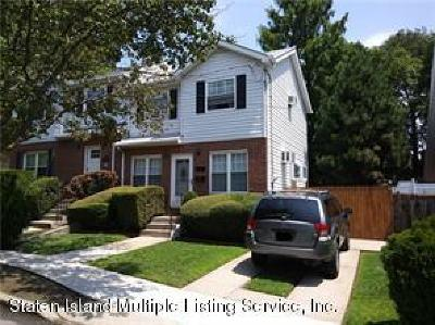 Staten Island Semi-Attached For Sale: 9 Egbert Place