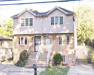Staten Island Two Family Home For Sale: 337 South Avenue