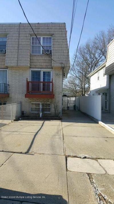 Staten Island Semi-Attached For Sale: 410 Willow Road W #1