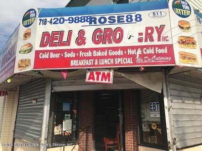 Staten Island Business Opportunity For Sale: 511 Tompkins Avenue