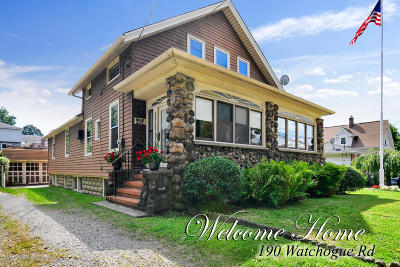 Single Family Home For Sale: 190 Watchogue Road