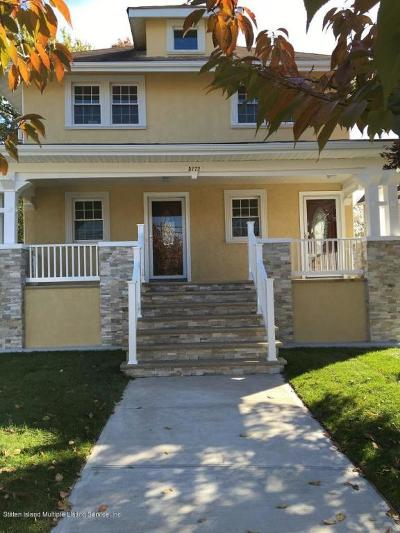 Staten Island Two Family Home For Sale: 5772 Amboy Road