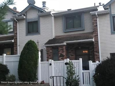 Staten Island Condo/Townhouse For Sale: 93 McDivitt Avenue #A